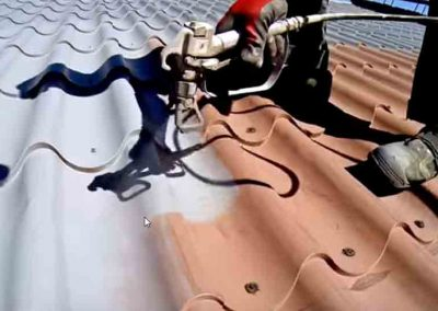 Fairfield Roofing Company at work