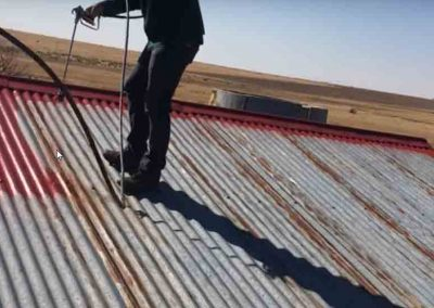 our experienced roofer at a site
